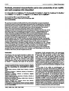 complexes with thioamides