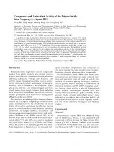 Components and Antioxidant Activity of the ... - Semantic Scholar