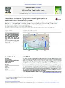 Composition and sources of polycyclic aromatic hydrocarbons in
