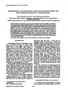 compositional and structural variation of sudoite from the betic ... - Csic