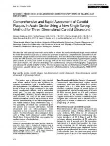 Comprehensive and Rapid Assessment of ... - Wiley Online Library