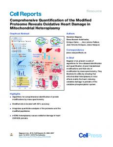 Comprehensive Quantification of the Modified ...
