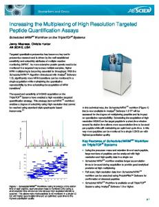 Comprehensive Quantification with Qualitative ... - AB SCIEX