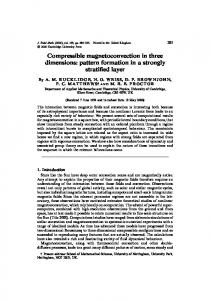 Compressible magnetoconvection in three dimensions - CiteSeerX