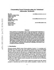Compressing Neural Networks using the Variational
