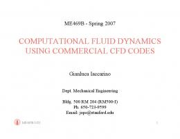 computational fluid dynamics using commercial cfd codes