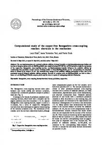 Computational study of the copper-free Sonogashira cross-coupling