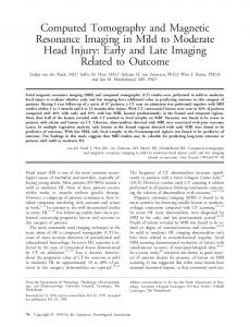 Computed tomography and magnetic ... - Wiley Online Library