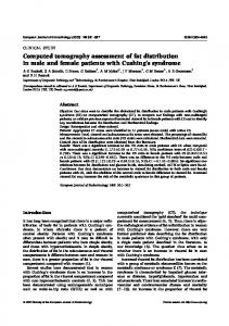 Computed tomography assessment of fat distribution in ... - CiteSeerX