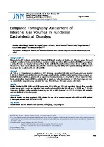 Computed Tomography Assessment of Intestinal ... - Semantic Scholarhttps://www.researchgate.net/.../Computed-Tomography-Assessment-of-Intestinal-Gas...