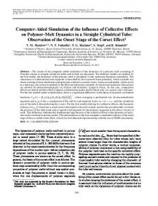 Computer Aided Simulation of the Influence of ... - Springer Link