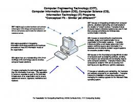 Computer Engineering Technology (CET), Computer Information ...