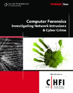 Network Forensics: Tracking Hackers through     - Pearsoncmg