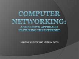 computer networking a top down approach solutions