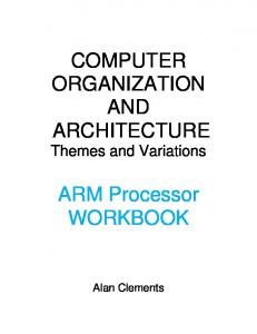 Computer Systems Architecture Workbook
