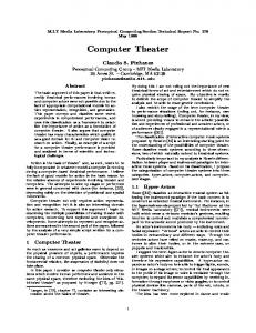 Computer Theater
