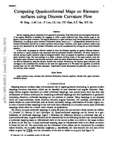 Computing Quasiconformal Maps on Riemann surfaces using ... - arXiv