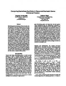 Computing Stackelberg Equilibria in Discounted ... - EECS @ UMich