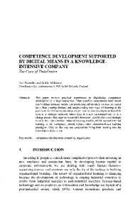comwetencedevelopmentsupported by digital means ... - Springer Link