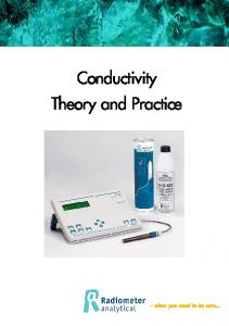 Conductivity Theory and Practice