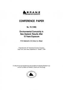 conference paper - Branz