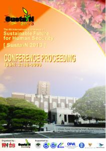 conference proceeding conference proceeding - International ...