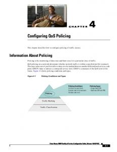 Configuring QoS Policing
