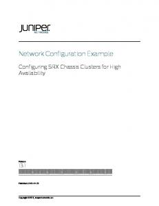 High Availability for EX9200 Switches - Juniper net - MAFIADOC COM