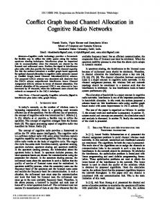 Conflict Graph Based Channel Allocation in Cognitive Radio Networks