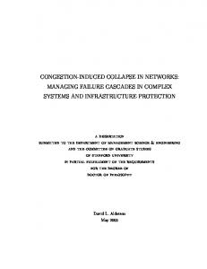 congestion-induced collapse in networks