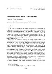 Congruence semimodular varieties II: Regular varieties