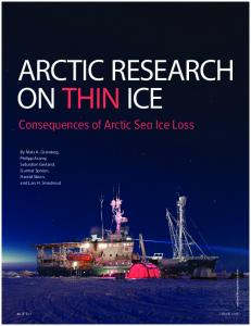 Consequences of Arctic Sea Ice Loss