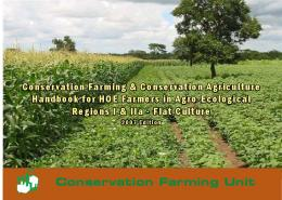 Conservation Farming & Conservation Agriculture Handbook for ...