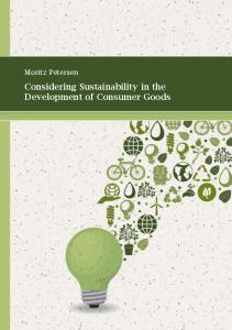 Considering Sustainability in the Development of ... - TUBdok - TUHH