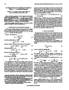 constrained sequences - Information Theory, IEEE