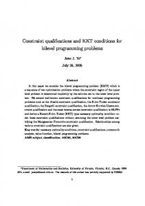 Constraint qualifications and KKT conditions for bilevel programming