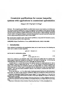 Constraint qualifications for convex inequality systems with
