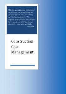 Construction cost management learning from case studies mafiadoc fandeluxe Choice Image