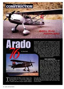 CONSTRUCTION - Model Airplane News