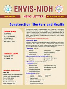 Construction Workers and Health - ENVIS NIOH