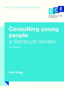 Consulting Young People - CiteSeerX
