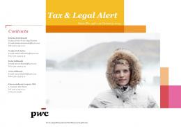 Contacts - PwC