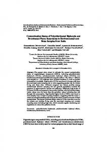 Contamination Status of Polychlorinated Biphenyls and Brominated ...