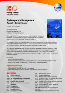 Contemporary Management - McGraw-Hill