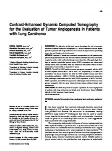 Contrast-enhanced dynamic computed ... - Wiley Online Library