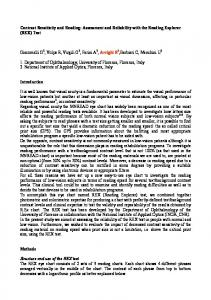 Contrast Sensitivity and Reading: Assessment and Reliability with ...