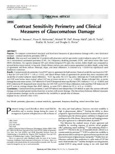 Contrast Sensitivity Perimetry and Clinical