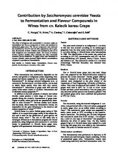 Contribution by Saccharomyces cerevisiae ... - Wiley Online Library