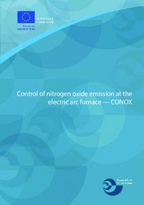 Control of nitrogen oxide emission at the electric arc
