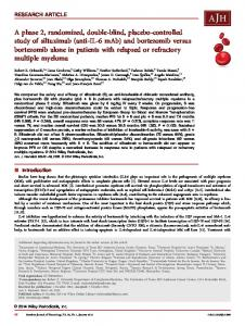 controlled study of siltuximab - Wiley Online Library
